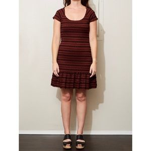 Free people fit and flair dress size small